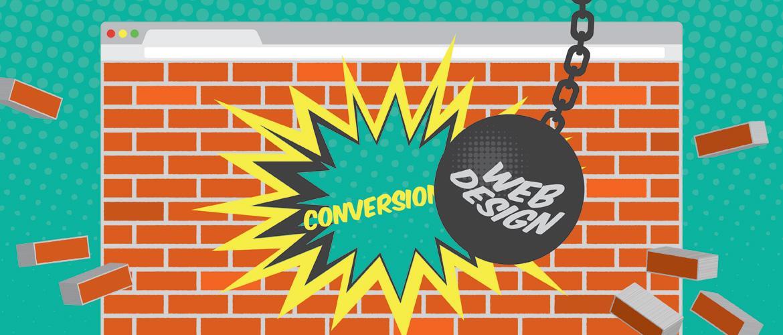 poor website designs hurt conversions