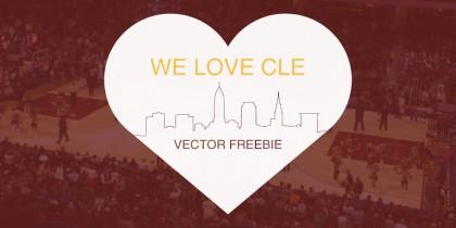 Cleveland Vector Freebie