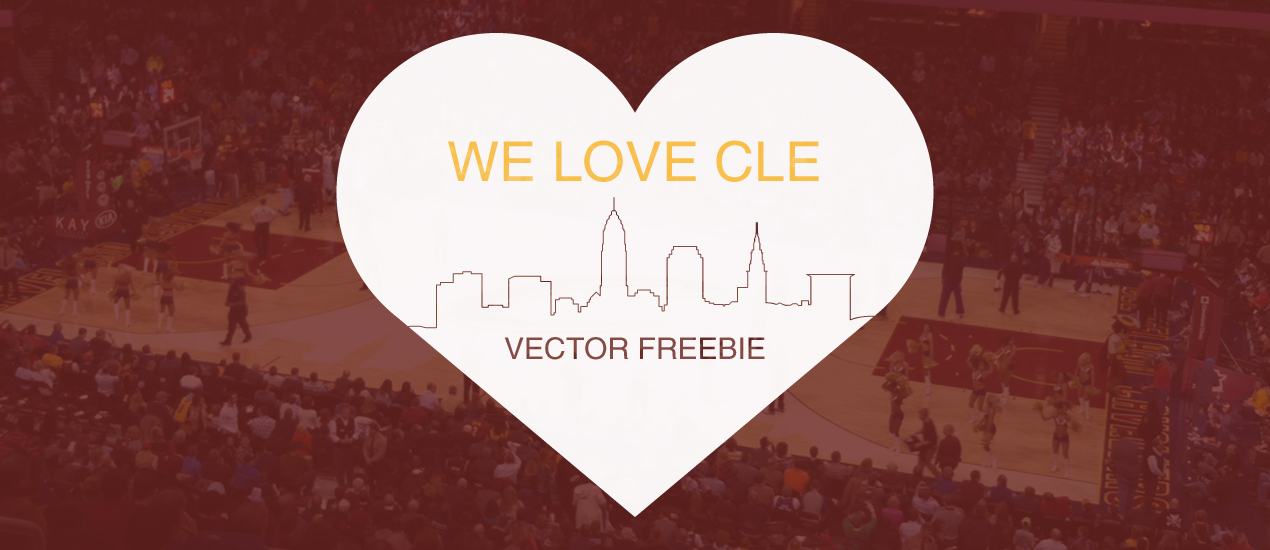 Cleveland Vector Freebie