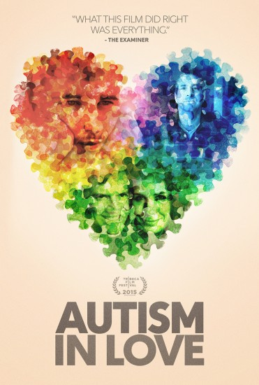 Autism In Love Theatrical one-sheet & digital poster for Matt Fuller and Carolina Grooper by Variant Creative