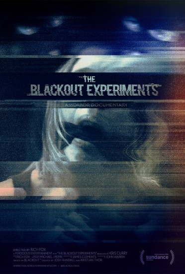 The Blackout Experiments Sundance Poster for Ferocious Entertainment by Variant Creative