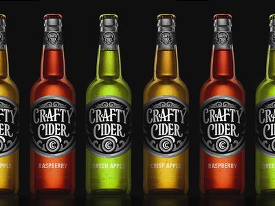Crafty Cider Bottle Design by Scott Biersack