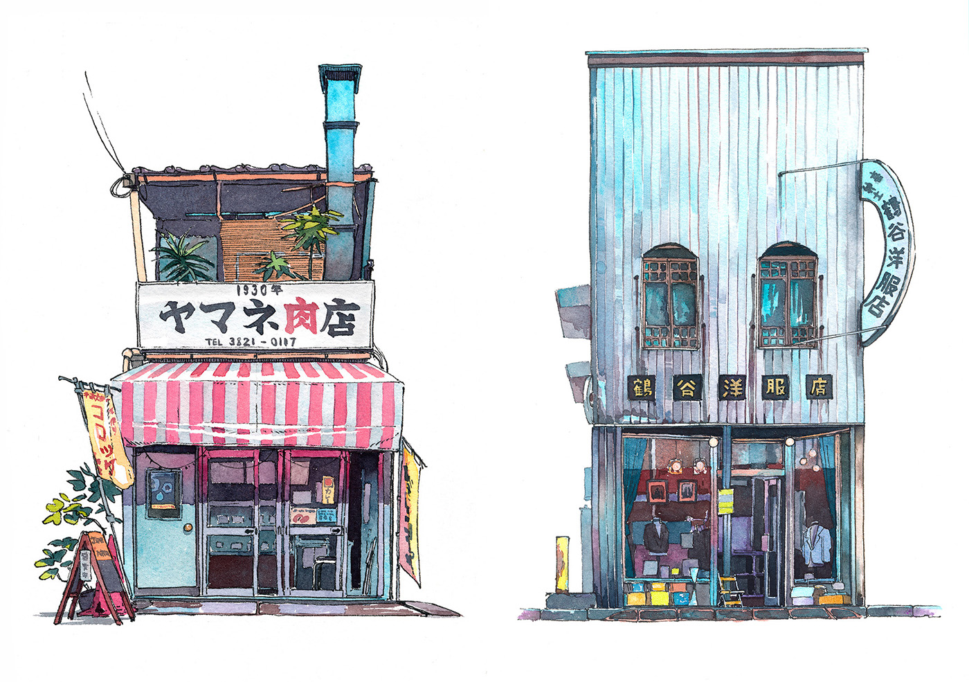 Inspiration of the Day: Japanese Illustration