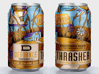 Thrasher: Session IPA from Defiance Brewing Co. by John Stadler