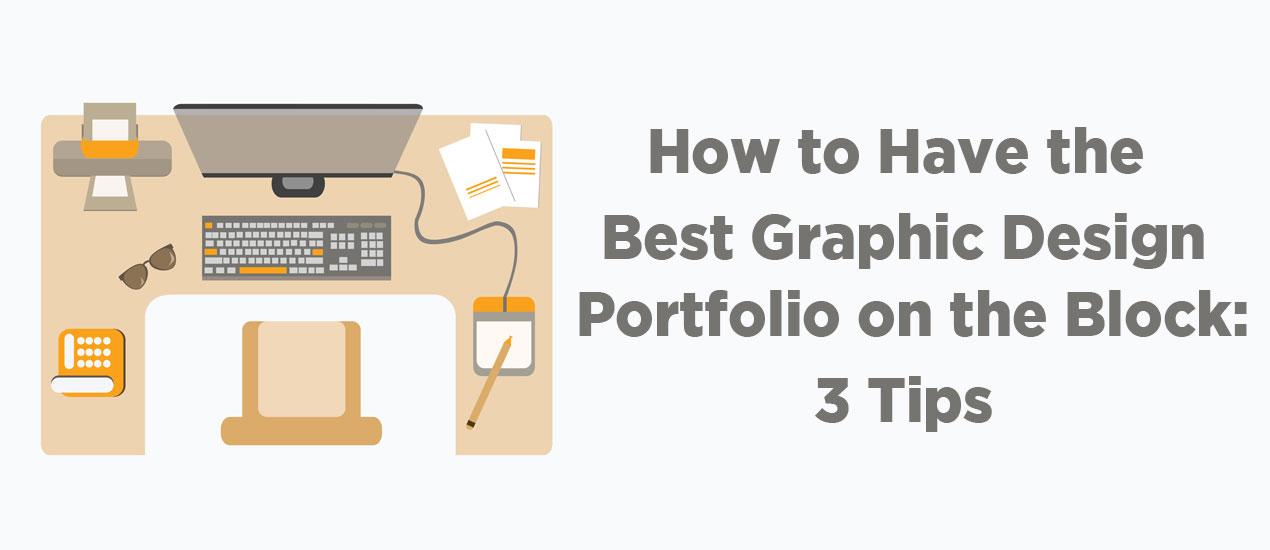 graphic design portfolio tips from go media