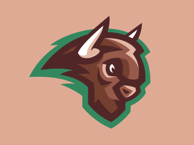 Bison Logo by Akuma101