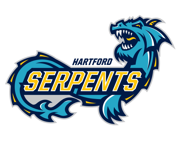 Hartford Serpents Identity by 343 Creative