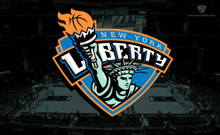 New York Liberty Identity by Steve O'Laughlin
