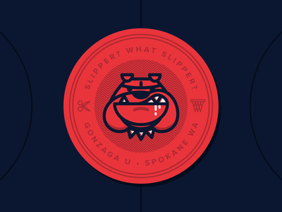 Gonzaga Stickers by Jacob Greif