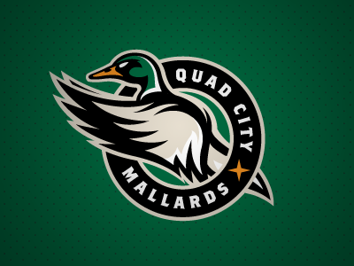 Quad City Mallards by Matt Kauzlarich for Studio 1344