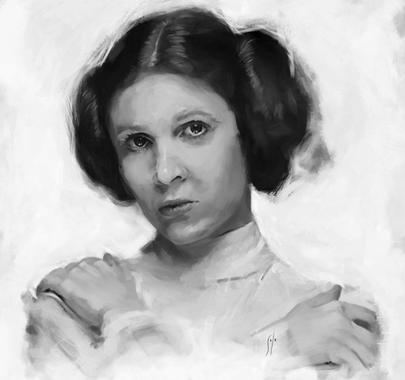 Leia by solo artwork