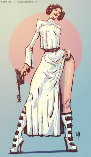 Princess Leia by BRÄO .