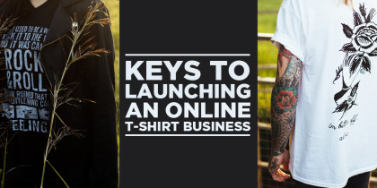How to Launch an Online T-Shirt Business