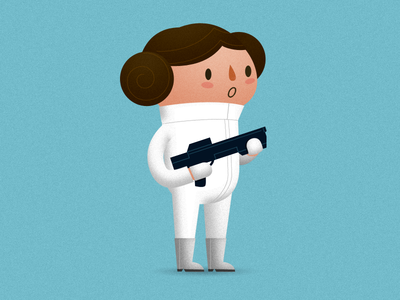 Princess Leia by Oliver Sin