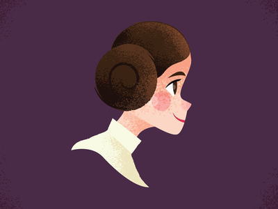 Princess Leia by Adam Grason