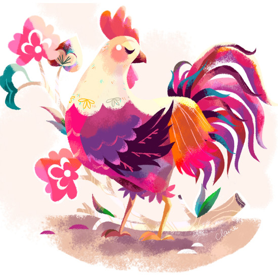Year of the Rooster by Claire O'Brien