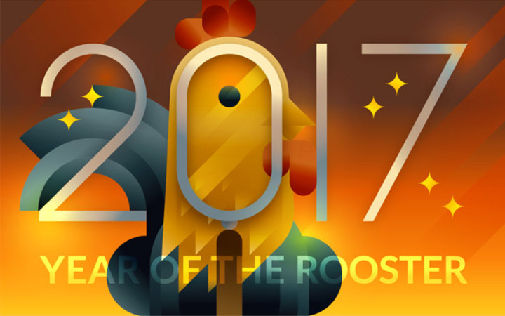 2017 - Year of the Rooster by Francesco Faggiano