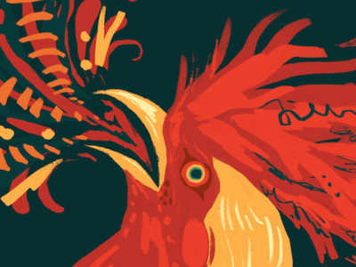 Fire Rooster by Wren Sauer