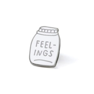 Bottled Up Feelings Pin by AdamJK