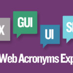 Top 6 Web Acronyms Explained