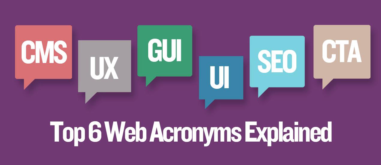 Web Acronyms