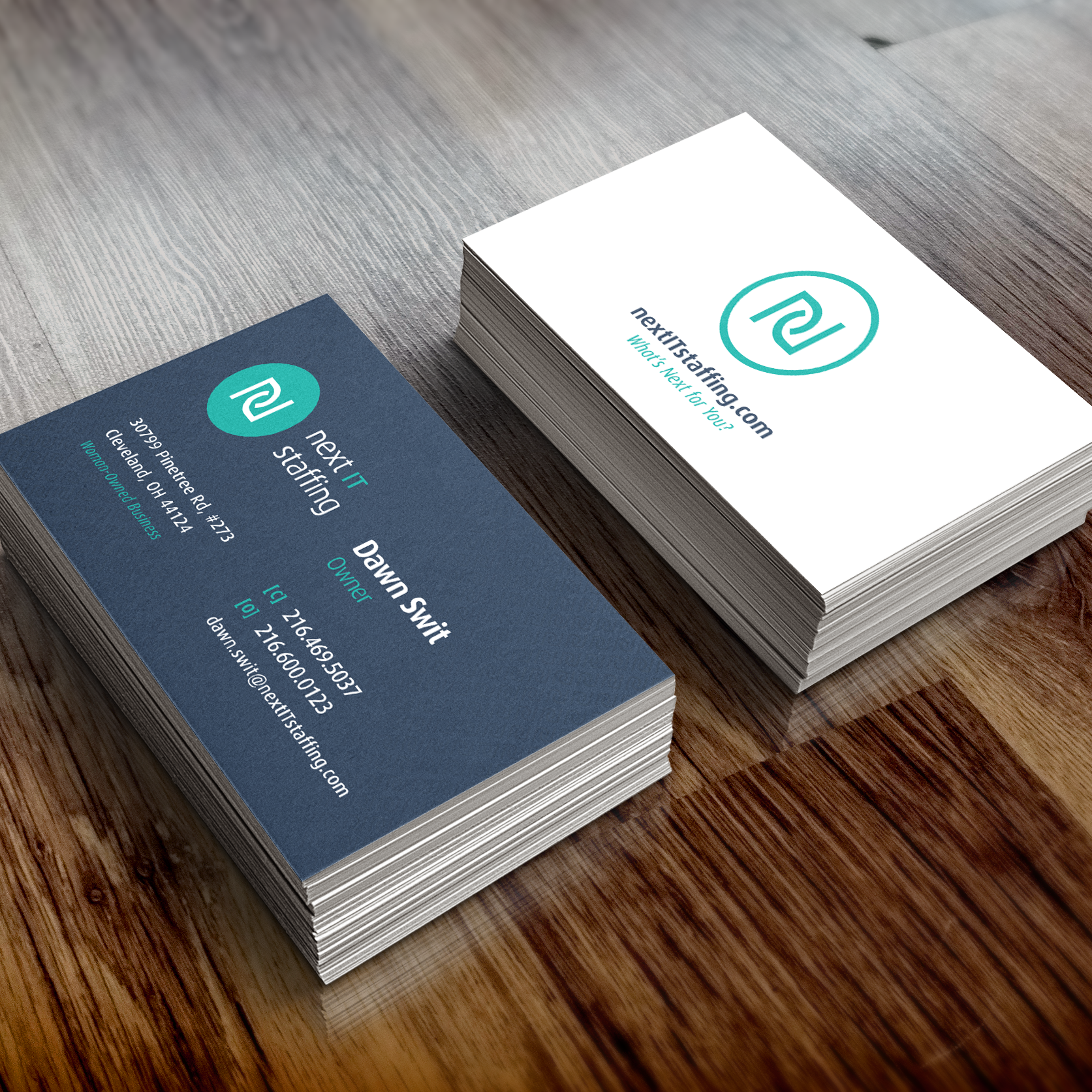 Next-IT_Business Card Mockup