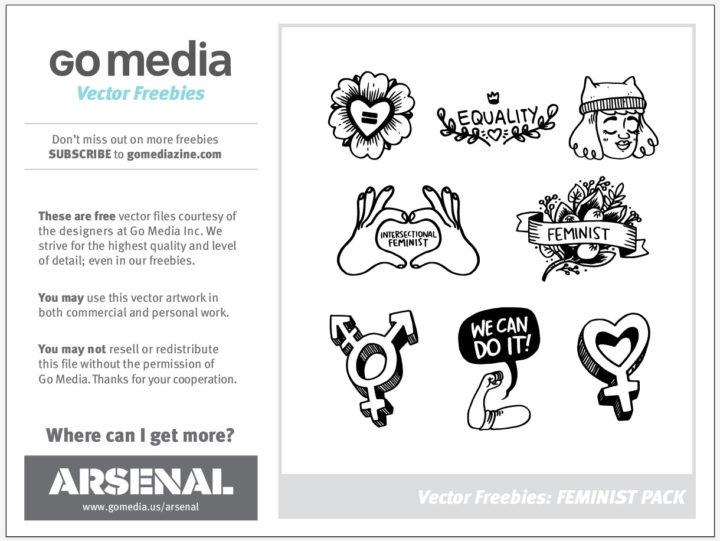 Free Feminist Vector Pack