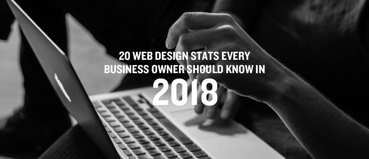 Web Design Stats 2018 on Go Media's Blog by Eric Gordon