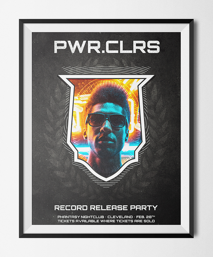 How to easily create a record release promo poster with the Arsenal's Fistful vector pack - poster design ideas