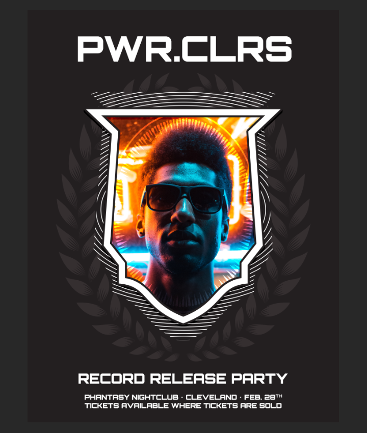 How to easily create a record release promo poster with the Arsenal's Fistful vector pack