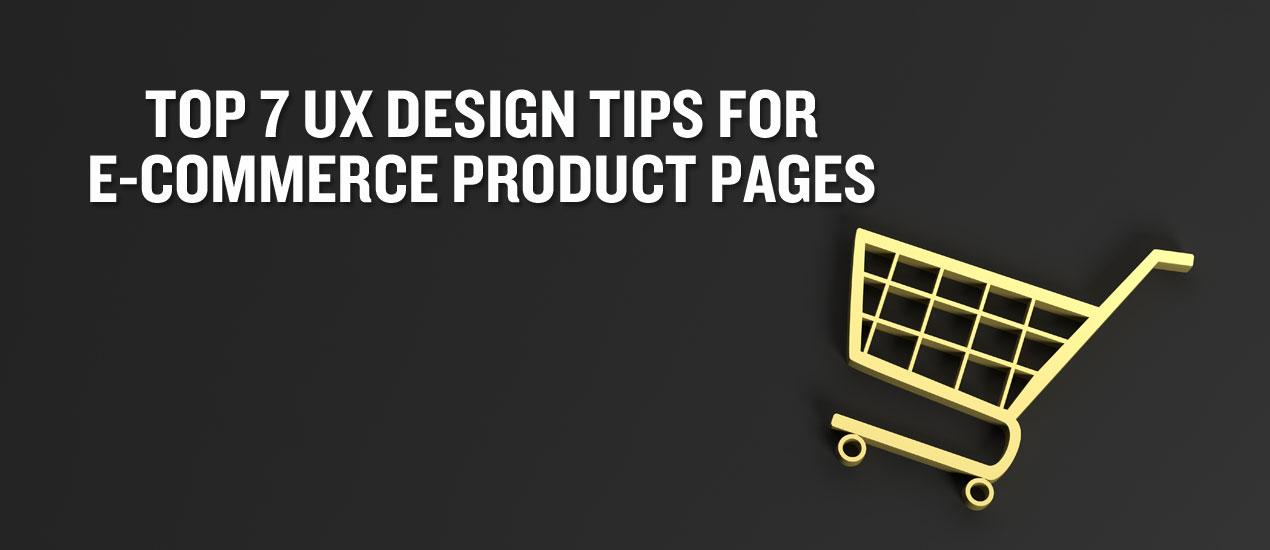 UX Design Tips for E-Commerce