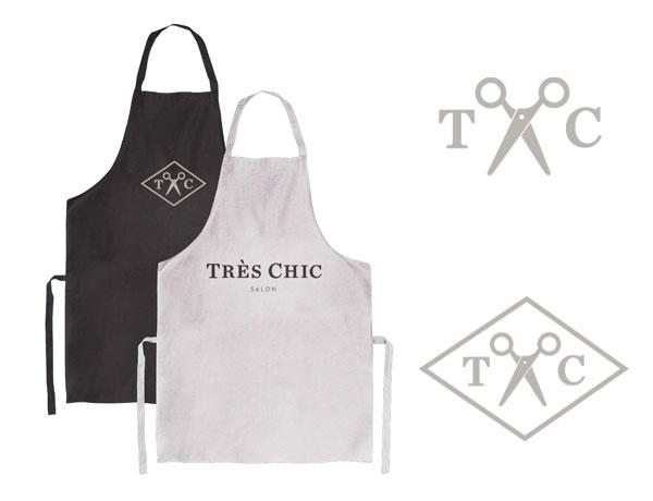 Tres Chic Salon Branding by Go Media